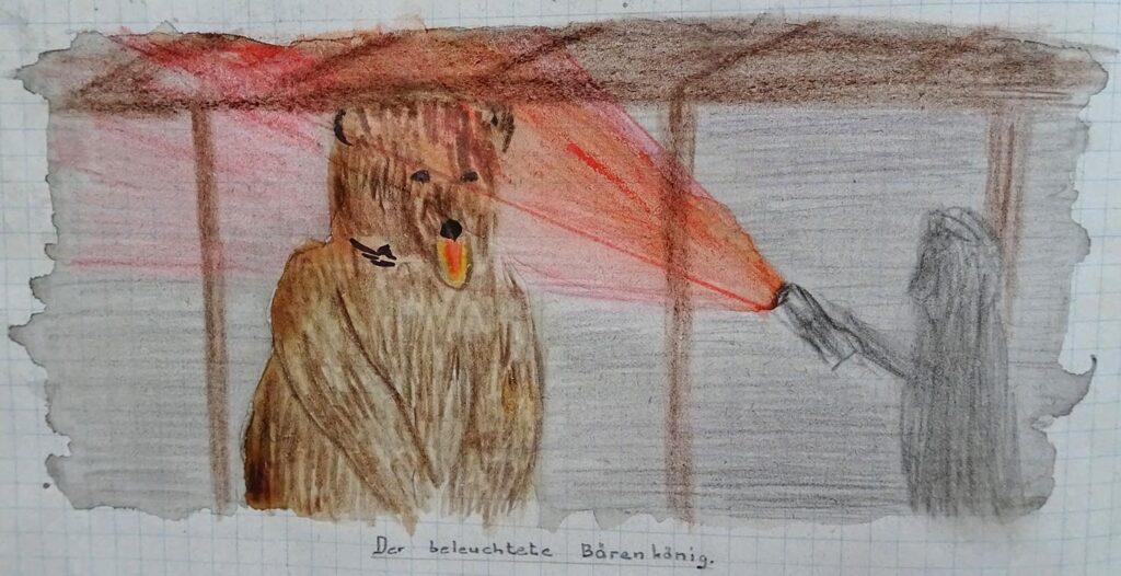Bärenkönig aus Gruppenbuch