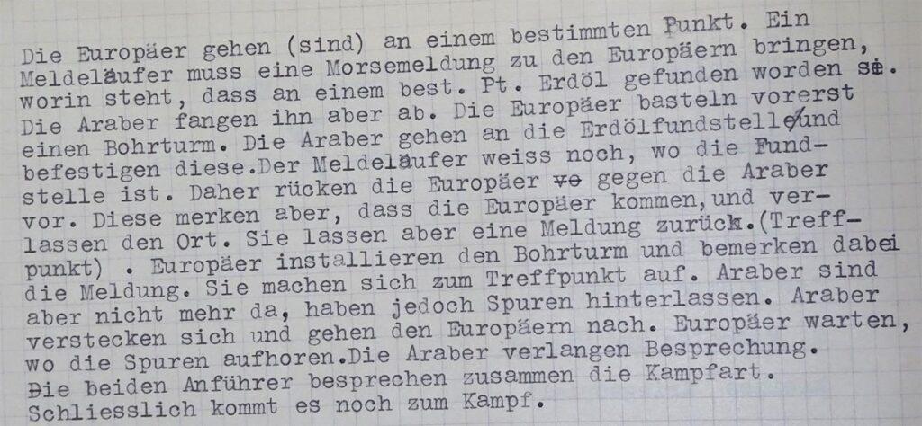"""Einkleidungsbeschreibung """"Bohrtürme"""""""